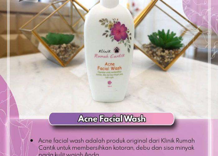 Acne Facial Wash, Ini Fungsinya